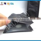 color printing side gusset laminated material plastic bag with valve for coffee packaging                                                                                                         Supplier's Choice