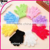 children's glove boy girl baby finger gloves super warm and coral fleece