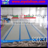 XIXI inflatable gym air mat,inflatable tumbling gym air track for dancer                                                                                                         Supplier's Choice