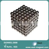 Sintered neodymium permanent magnetic balls