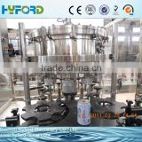 Aluminum beverage cans soda pop making/filling machinery