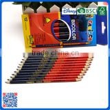 2016 Natural Wood Color Pencil in color box for school drawing