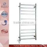 Electric towel ladder for bathrooms