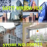 wholesale 2mil 1.52*30m clear safty & security window film, resist accidental anti graffti