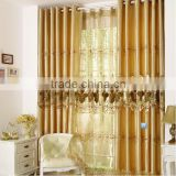 2014 new design luxury printed curtain