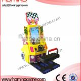 The latest hot product Baby Racing Car game, arcade video car game/hot sale game machine
