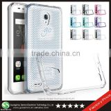 Samco Premium Scratch Resistant Crystal Clear Hybrid TPU + PC Phone Case for Alcatel One Touch Go Play