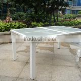 Outdoor furniture table / Aluminum frame table for garden dinning table