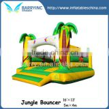 Hot!! jungle inflatable bounce house,custom inflatable bouncer for kids