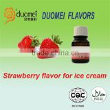 Strawberry colored strawberry flavor for ice cream, ice cream flavors, strawberry flavor powder