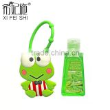 Guangzhou Manufacturer Popular Mini Cute Animal Antibacterial Gel Hand Sanitizer Holders