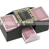 New Deluxe Casino Poker 1-2 Deck Automatic Card Shuffler