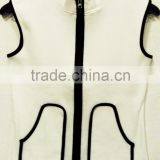 """100% ORGANIC COTTON PACKET WITH ZIPPER TANK TOP"""
