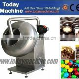 stainless steel sugar chocolate candy nuts pill automatic peanut roasted food coating machine