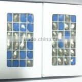 100% Good feeback blue opal oval shape13*18mm crystal oval oblate stones.Hot sale opaque stone for clothing