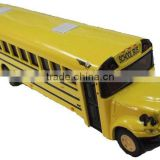diecast metallic miniature school bus model toy
