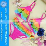 Children young girl bikini swimwear garment factory 2014 xxx hot sex bikini young girl swimwear photos