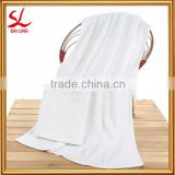 "Thick Absorbent 100% Cotton Bath Towels Hotel Spa Soft White Shower Towels 27"" * 71"""