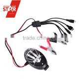 Battery Clamp Charger 12V Auto Moobile Universal Charger Battery Charger With Two Clips Hot Selling Electronics