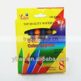Eco-Friendly Stationary Medium High Quality Wax Crayons Set with Color Box