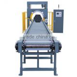 Exported wrapping machine horizontal type pipes packing