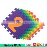 Melors Discount exercise Flooring mat,outdoor colorful EVA floor tile/Kindergarten playground EVA foam mat