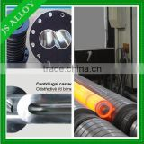 Centrifugal casting bimetal screw and barrel for injection molding machine