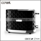 Hot Diamond multifunction toaster/2 slice toaster from China supplier/electrical hamburger bun toaster