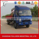 best selling china made truck with loading crane