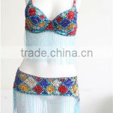 DS-016 new design sexy carnival party dance bikini & ballroom bra