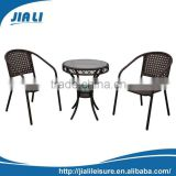 Top quality wicker aluminium bistro sets