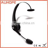 NFC Function multi-point 5 hours talk time swivel boom microphone single side headband wireless bluetooth headset