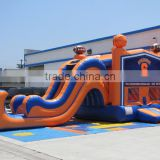inflatable bouncer slide combo, adult baby bouncer for sale