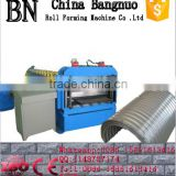 spiral steel silo roll forming machine, steel silo making machine,spiral steel silo making machine
