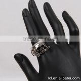 Best quality index finger rings, young boy rings in china, the expendables skull ring wholesale