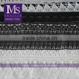 Factory Supply Lace Manufacturer white rayon lace embroidery fabric