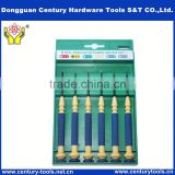 6pcs mini precision slotted screwdriver set