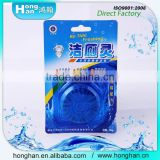 Blue bubble bio toilet cleaner