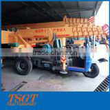 Fuctional Newest Designed Small Truck Crane with Diesel Tricycle Narrow Space Use 3 Ton Lifting Load