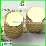 Precision CNC machining parts, stainless steel knurled knob, aluminum knurled knob