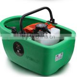 2 stroke 1.25kw gasoline engine boat form water pump,self-priming pump,self sucking pump