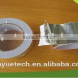 Sliver Aluminum Foil Tape heat resistant insulation material self adhesive with release liner