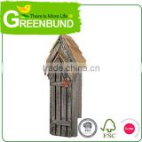 Bark Roof Bat House Wooden Bird Feeder With Wild Life Care