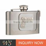 WSJJYY058 quality assurance hip flask sets stainless steel hip flask/ liquor flask /drink pot