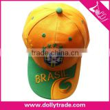 World Cup Sports Football Baseball Hat Cap Brazil