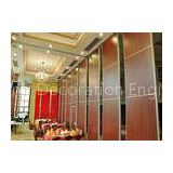 Interior Suspended  Restroom Partition Walls Bare Finish For Sports / Leisure Facilities