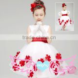 Princess Girl Dress kids Baby floral Girl party Dress Children Clothing