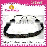 wholesale black fashion hair accessories hollow lace elastic head band for women