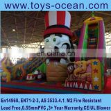 circus troup amusement park indoor playground commercial used safe inflatable big toys /kids inflatable amusement park