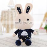 Cute Rabbit w/ Black clothes----Boy plush toy